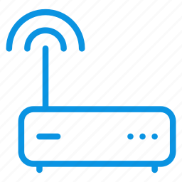 connection, hub, internet, modem, router, wifi icon