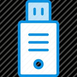 data, disk, drive, flash, flashdrive, storage, usb icon