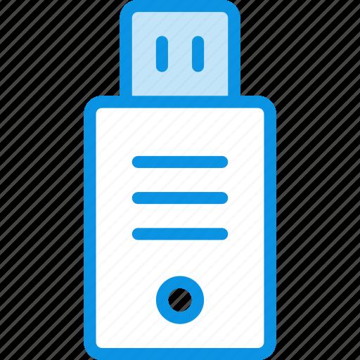 drive, flash, usb icon