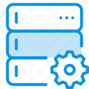 base, data, database, options, rack, server, settings icon
