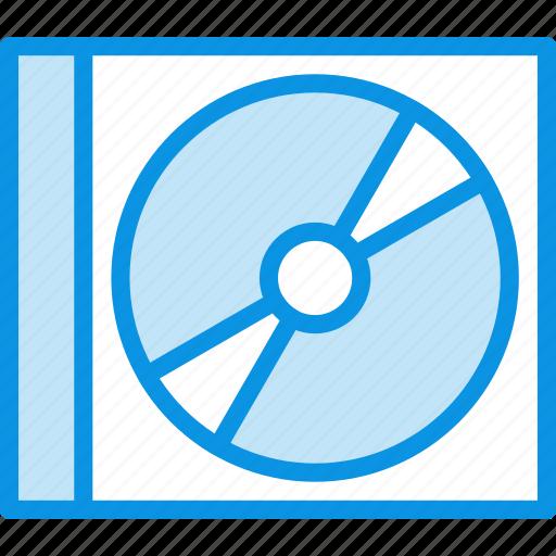 case, compact, disc icon