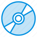 bluray, cd, compact, digital, disc, dvd, media icon