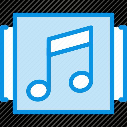 album, music, showcase icon