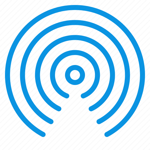 antenna, connection, radio, signal, waves, wifi, wireless icon