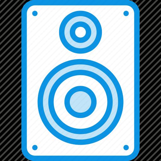 audio, bass, monitor, music, sound, speaker icon