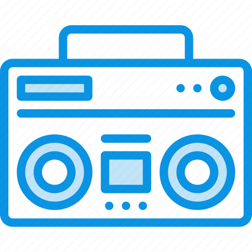 boombox, radio, recorder icon