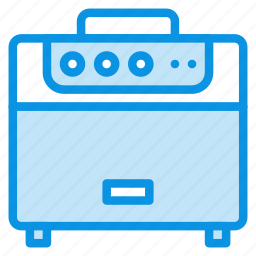 amp, amplifier, audio, guitar, music, radio, speaker icon