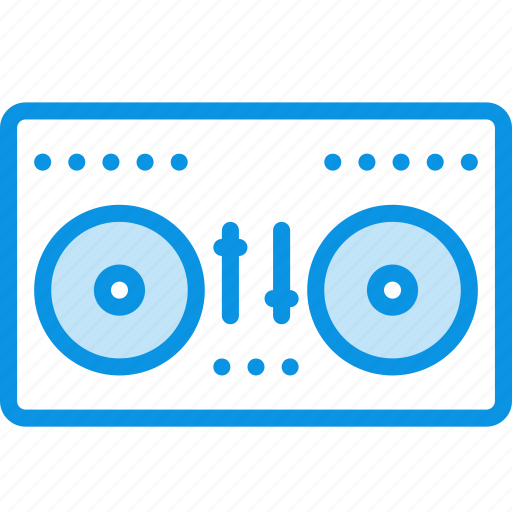 audio, disco, dj, mix, mixing, soung, vynil icon
