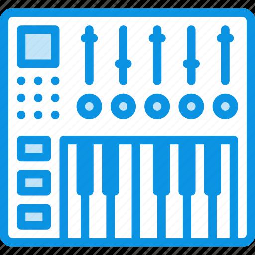 audio, controller, dj, keys, midi, mix, mixing icon