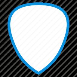 guitar, pick icon