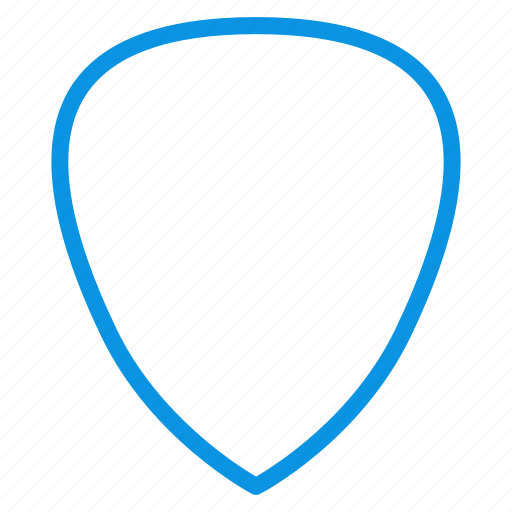 guitar, pick icon