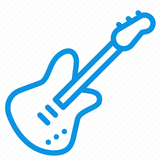 audio, bass, electric, guitar, instrument, music, sound icon