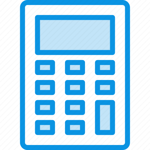calculate, calculator, device icon