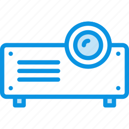 device, presentation, projector icon