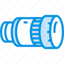 camera, lens, telescope icon