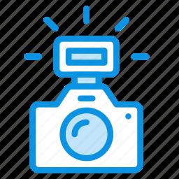 camera, flash, photo icon