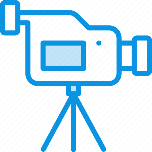 cam, camcorder, camera, record, stand, tripod, video icon