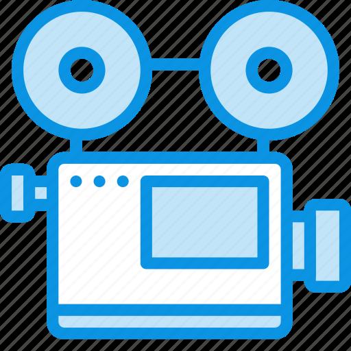 camera, device, film, media, record, retro, video icon