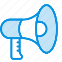 advertising, megaphone, promote icon