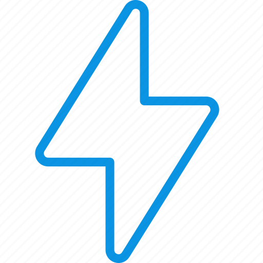 action, electric, flash icon