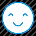emoji, happy, smile