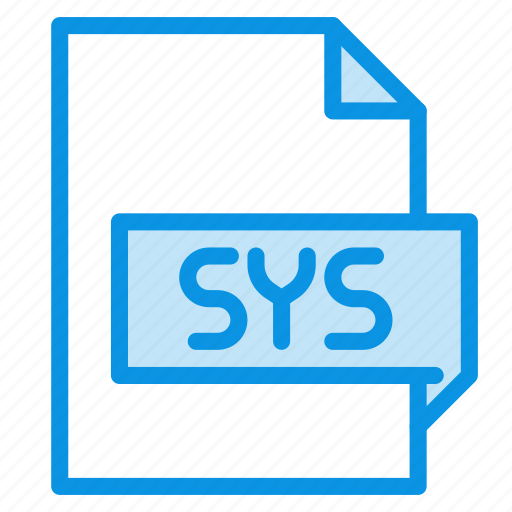 file, sys, system icon