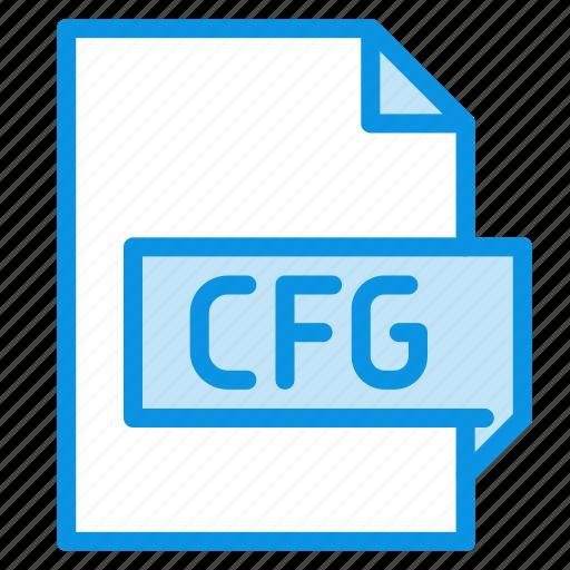 cfg, config, file icon