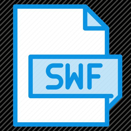 animation, file, swf icon