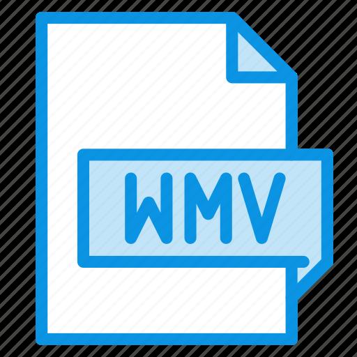 file, video, wmv icon