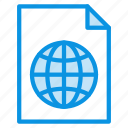 file, global, language icon