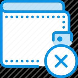 cash, delete, money, pay, payment, remove, wallet icon