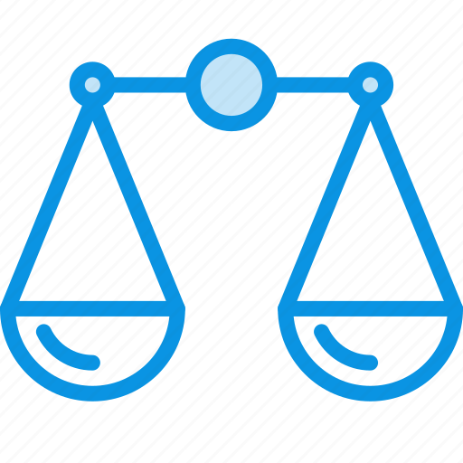 balance, compare, justice, law, scales, trade icon