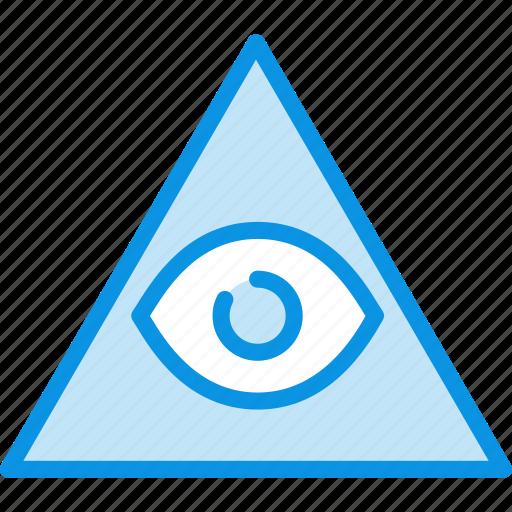 eye, god, pyramid icon