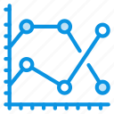 analytics, graph icon