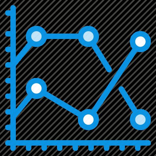 analytics, graph icon