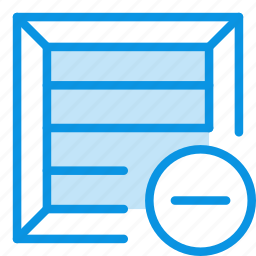 box, clear, product icon