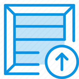box, crate, package, parcel, product, shipping, upload icon