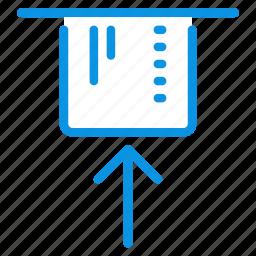 atm, card, cash, credit, dispenser, insert, machine icon