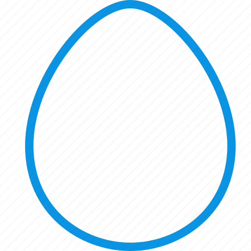 chicken, egg, food icon