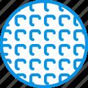 belgian, wafer, waffle icon