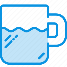 cup, drink, kitchen, mug, tableware icon