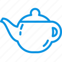 drink, hot, kettle, kitchen, tableware, teapot icon