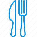 fork, knife, restaurant icon