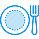 fork, plate, restaurant icon