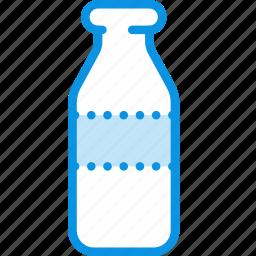 bottle, cream, food, kefir, milk, yogurt icon