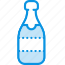 bottle, champagne, drink icon