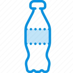 bottle, cola, drink, plastic, soda, sparkling icon