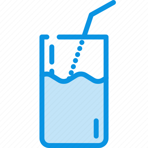 cocktail, drink, milk icon