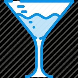 alcohol, drink, food, glass, margarita, martini icon