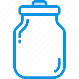 can, kitchen, milk, water icon